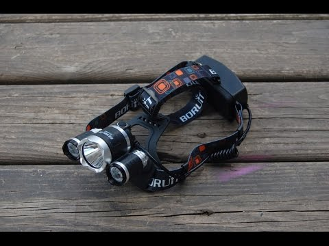 Zeblaze 3x Cree LED Headlamp Overview