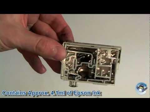 Inside Epson T1281 Black (Fox) Ink Cartridge