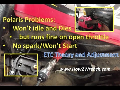 Polaris looses spark at idle or won't idle and dies: THE FIX (runs great everywhere else)