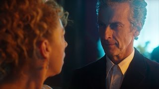 """Hello Sweetie!"" River Song Meets The Twelfth Doctor - Doctor Who: The Husbands Of River Song - BBC"