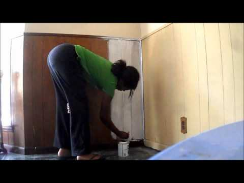 Do It Youself   Kitchen Remodel X   Painting Wood Paneling