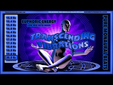 Euphoric Energy (Part 3) Mid Beta Wave Monaural Beats