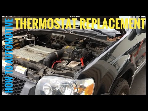 How to Replace the Thermostat on a 2006 Ford Escape Hybrid