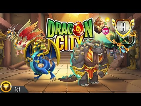 Dragon City - Pyramid Island + All Dragons [First Looks]
