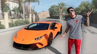 SURPRISING MY FIANCE WITH HIS DREAM CAR!!! (BRAND NEW LAMBORGHINI)