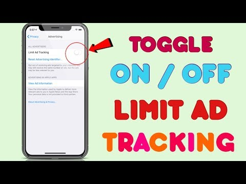 How to Turn Off Limit Ad Tracking on iOS 12! Greyed Out Fix!