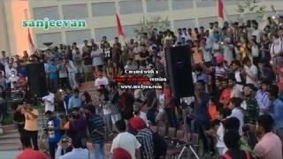 millind gaba and ikka live performance chandigarh  university
