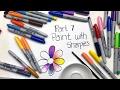 Sharpie Coloring Secrets: Part 7 - Paint with Sharpies