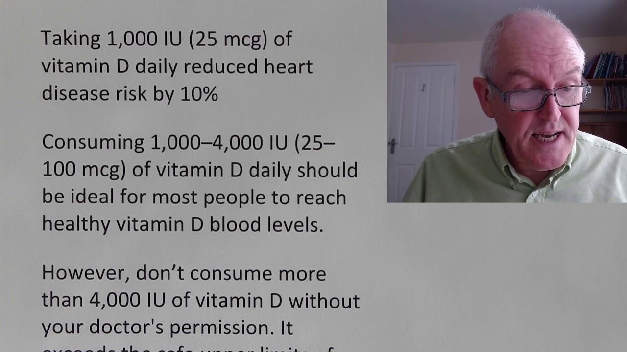 Vitamin D dose