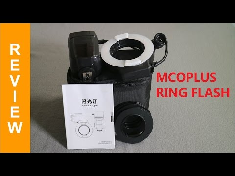 Mcoplus MCO-14EXT-C Canon ETTL II xenon ring flash review, how to use and sample images