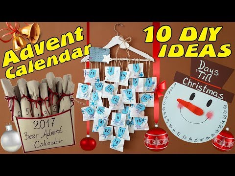 10 DIY Advent Calendar Idea / HOW TO!