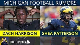 Michigan Football Rumors: Zach Harrison to Michigan? Tarik Black Playing? Shea Patterson's 2019 Plan
