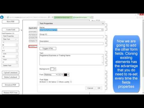 Create hybrid interactive and responsive PDF Form