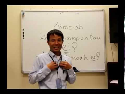 Asian Languages-Learn basic Khmer/Cambodian language pronouns Part I