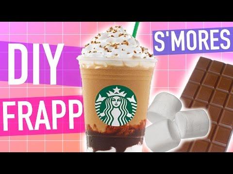 DIY Starbucks S'mores Frappuccino!