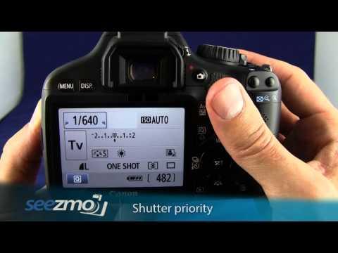 Canon Rebel T2i/550D: Shutter Priority