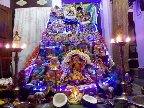 Navarathiri Golu Steps ideas for Beginners/Organizing Golu steps/Navarathiri special Bommai Golu