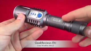 WindFire Tactical CREE XM-L2 T6 2000 Lumen Unboxing/review