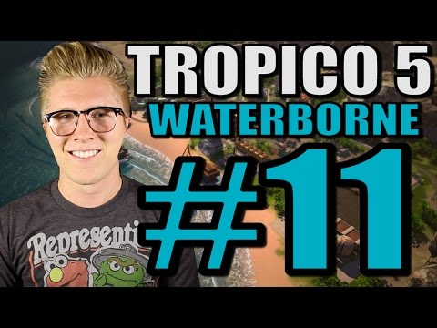 Let's Play Tropico 5: Waterborne [Gameplay] Part 11 - Building Bank!