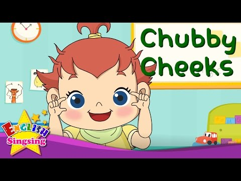 Chubby Cheeks - Face song - Nursery popular Rhyme - baby song with lyrics - English Song For Kids