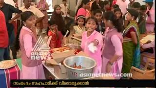 Students running canteen at Chittur Government Victoria to Help building home for classmate