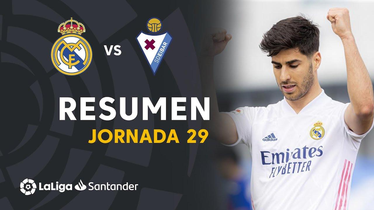 Resumen de Real Madrid vs SD Eibar (2-0)