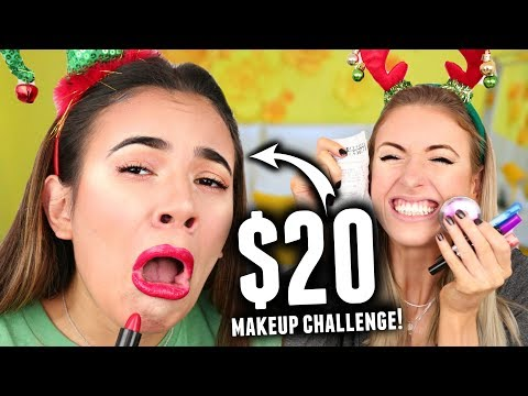 $20 MAKEUP CHALLENGE!! (Shopping Challenge for Full Face Of Makeup)