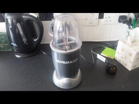How to Make A Banana Milkshake with Nutribullet