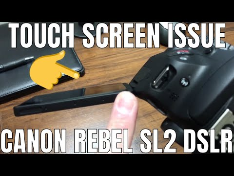 Canon Camera Rebel SL2 LCD Touch Screen Separating/Detaching From Housing
