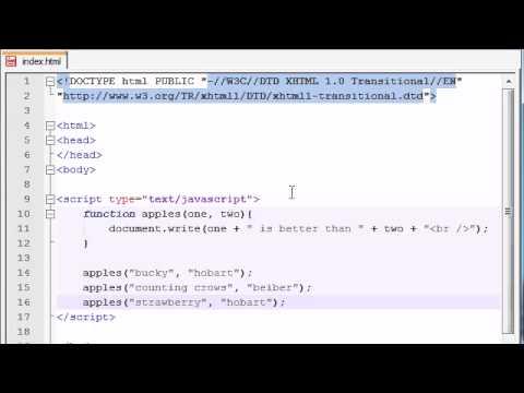 Beginner JavaScript Tutorial - 8 - Functions with Multiple Parameters