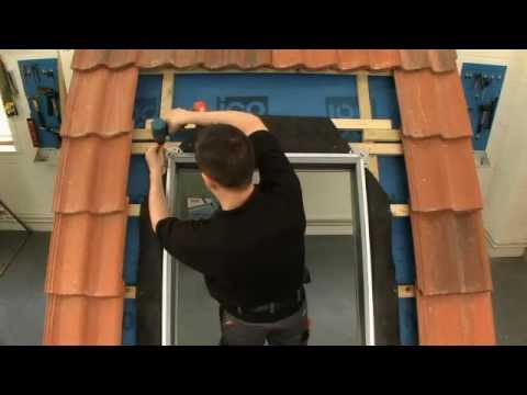 Velux Previous Generation Recessed Installation In Tile