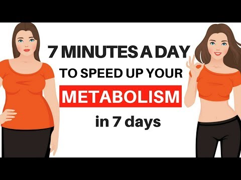 7 DAY CHALLENGE - CALORIE 🔥 BURNING 7 MINUTE WORKOUT TO SPEED UP YOUR METABOLISM - 7 DAY CHALLENGE