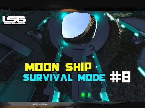 Space Engineers - Moon Ship Construction SE5 - EP8