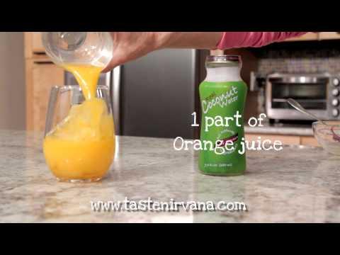 Coconut Water Orange Juice