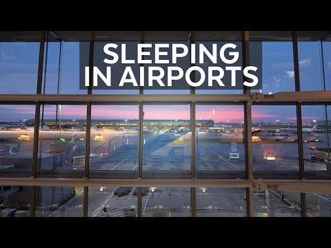 Sleeping at Heathrow Airport | Carne Travels: UK Vlog 11