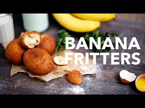 Banana fritters  [BA Recipes]
