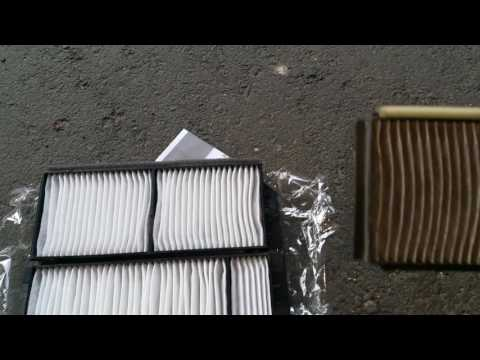 HD - 2004-2009 Mazda 3 Cabin Air Filter Change DIY - No Glove Compartment Removal Method