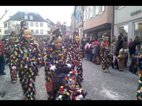 Fasnacht Carnival 2011 Black Forest Germany
