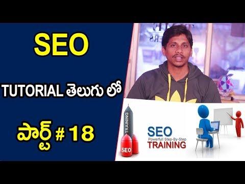 SEO Tutorial In Telugu 2018 || Website Niche part 18
