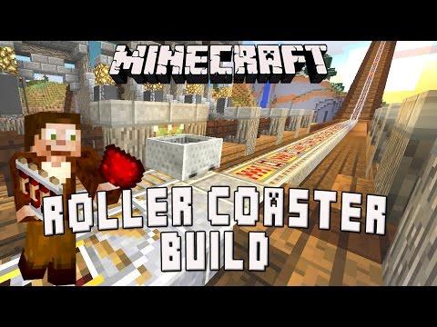 Minecraft: Minecart Station Tutorial    (Scarland Roller Coaster Build Ep.19)