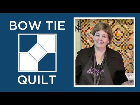 Make a Bowtie Quilt Block - Easy Quilting Tutorials