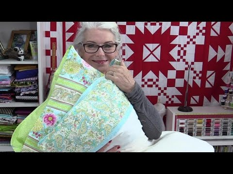 Pretty Pillow Case with a Flap to Hide the Pillow