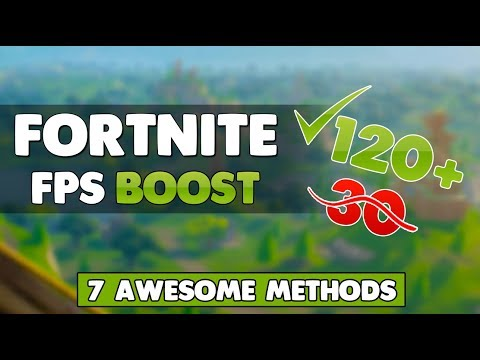 Fortnite - Boost Your FPS With These 7 Awesome Methods (Fix Lag & Stuttering)