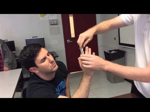 Measuring the ROM of the Finger Joints