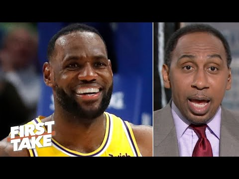 LeBron is showing Kawhi he's back and deserves to be MVP so far - Stephen A.   First Take