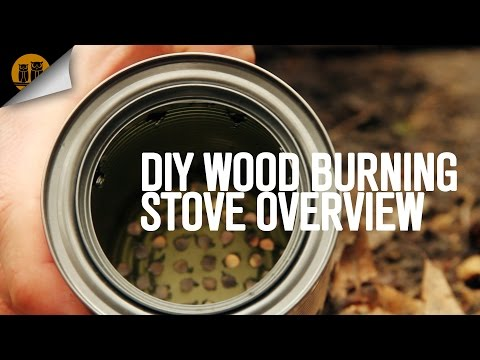 DIY Wood Burning Backpacking Stove Overview