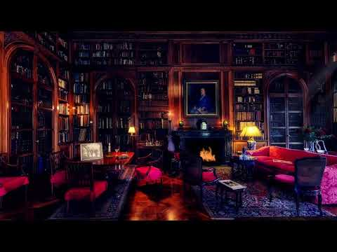 🎧 Library Room Ambience   8 HOURS   Relaxing asmr Soundscape