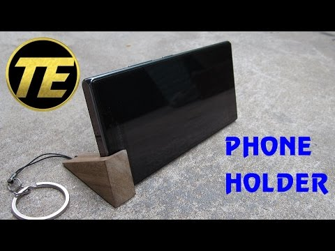 DIY - Making a phone holder