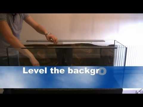 How to measure aquarium in order to get 3d aquarium background - short video tutorial