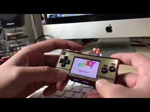 Gameboy Micro + EZ Flash IV